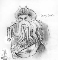The Sadness of Davy Jones by tsareia