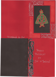Celtic Knot Christmas Card by zuzuKH