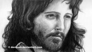 Adrian Webster as Aragorn by devsash