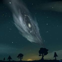 A Galaxy Away by SassyGhost