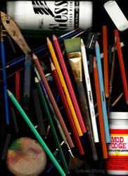 Art Supplies by colleenchiquita