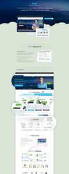 Funio Web Hosting - Website Layout Design by themerboy