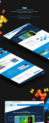 One Page Versatile PSD Temaplate - Free by themerboy