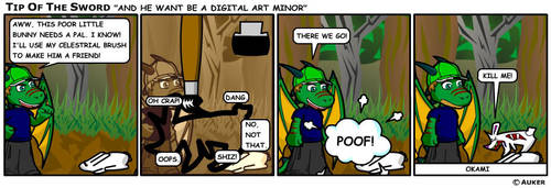 He's A Digital Art Minor... by tipofthesword