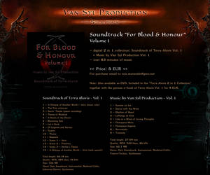 OFFER: For Blood and Honour - Terra Aluvis OST by Van-Syl-Production