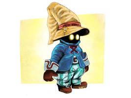 Vivi (Final Fantasy 9) by jollyrein
