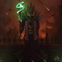 Darcius, Keeper of the Dark Santum by LGood20