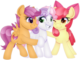[C] Cutie Mark Cuties by partylikeanartist