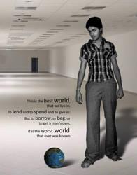 World in feets by ashisharma