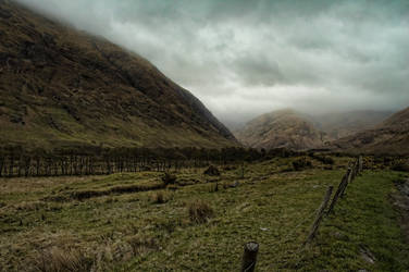 Scottish Landscape by mcleodan