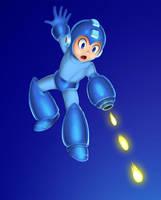 Megaman Smash by RoydGriffin