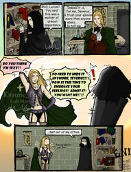 HP: Alone in Snape's Office by kitsuneleah