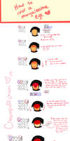 How to color an anime eye by creampuffchan