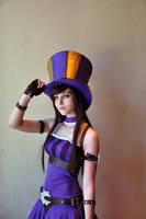 League of Legends: Caitlyn by Kaira27