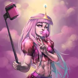 Bubblegum Princess Collab by Yanosik