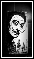 Salvador Dali _ by MarchCoven