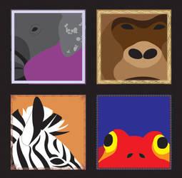 Zoo Symbols by ZenzicBit