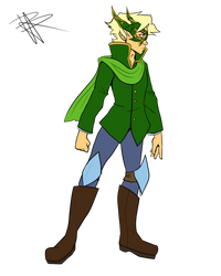 Prince Lloyd (Mechasauria Commission) by RRproAni