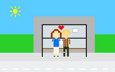 Derek and Melanie and Ferynne by Entaryon