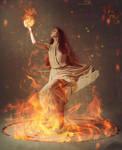 Fire Priestess by daylite401
