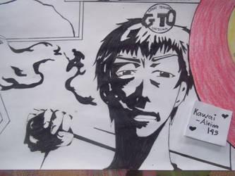 Eikichi Onizuka : GTO (8) by Kawai-Aleina143
