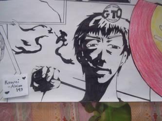 Eikichi Onizuka : GTO (10) by Kawai-Aleina143