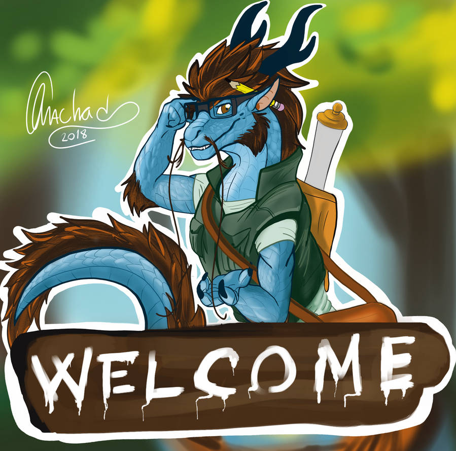 Welcome Fellow Artists by MachadoLima
