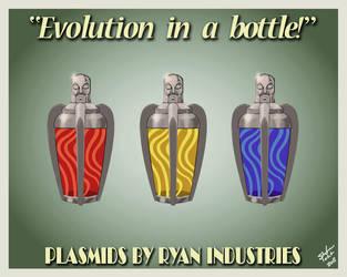 Evolution in a Bottle v2 by Spetit05