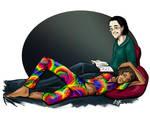 rainbow by ladyyatexel