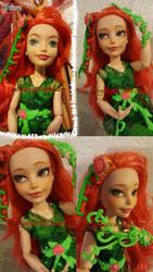 Repaint: Super Hero Girls Poison Ivy by ladyyatexel