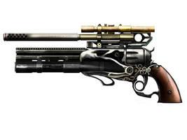Thunderbird hand gun weapon by Colin-Ashcroft