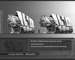 Miner machine bot. by Colin-Ashcroft