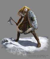 RPG fantasy character design by Colin-Ashcroft