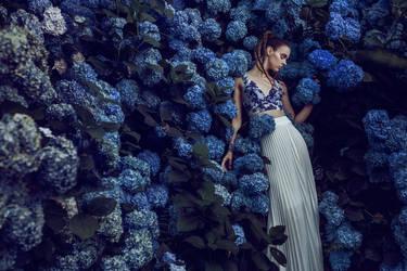 wall of flowers by Rinksy