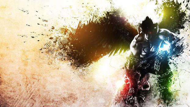 Devil Jin Kazama Wallpaper by alekSparx