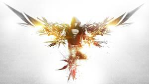The Archangel of Dance Wallpaper by alekSparx