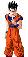 Colored 037 - Gohan 004 by VICDBZ