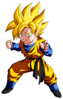 Colored 055 - Goten 001 by VICDBZ