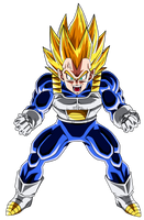 Colored 053 - Vegeta 014 v2 by VICDBZ