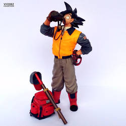 Banpresto SCultures - Son Gokuh by VICDBZ