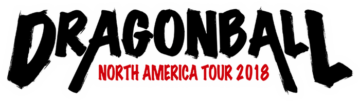 Logo - Dragon Ball Noth America Tour 2018 by VICDBZ