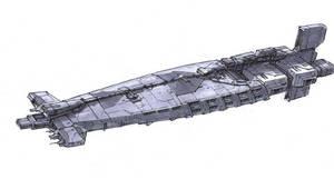 Gun Frigate by Orpheus7