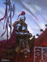 Blind Knight by matjosh