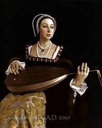 Anne Boleyn the Queen by VelkokneznaMaria