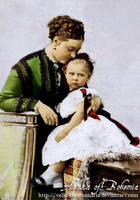 Empres Victoria with daughter by VelkokneznaMaria