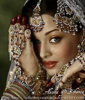 Aishwarya Rai by VelkokneznaMaria