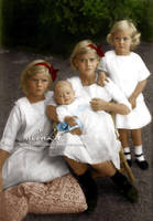 Greek royal children by VelkokneznaMaria