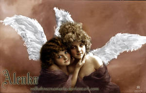 Vintage angels by VelkokneznaMaria
