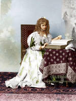 Princess Missy with a book by VelkokneznaMaria