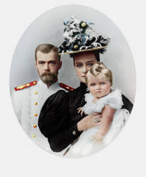 The Imperial family in 1896 by VelkokneznaMaria